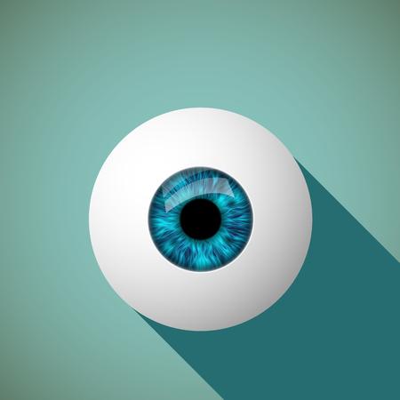 human eye: Icon of the human eye.