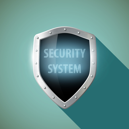 metal shield: Word system security on the metal shield.
