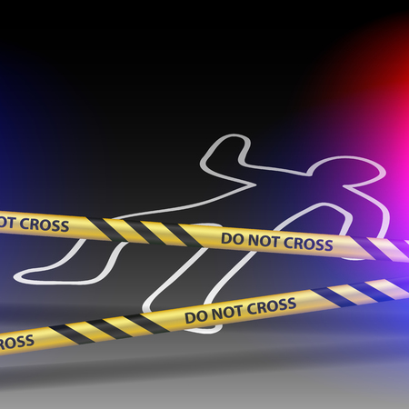 homicide: Crime scene. Do not cross.