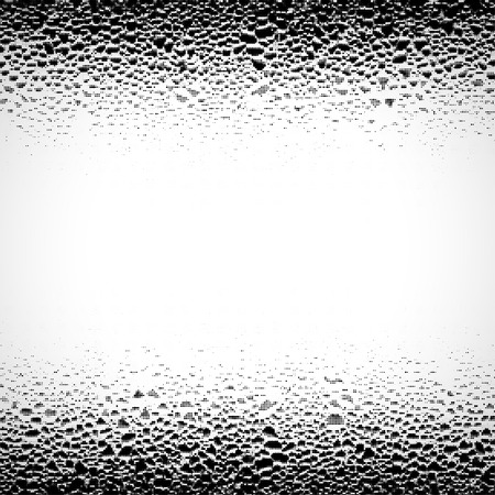 Grunge background with drops. Halftone dots texture.