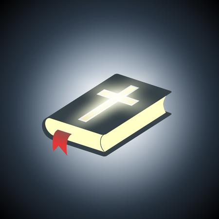 baptist: Holy Bible. Symbol of religion.