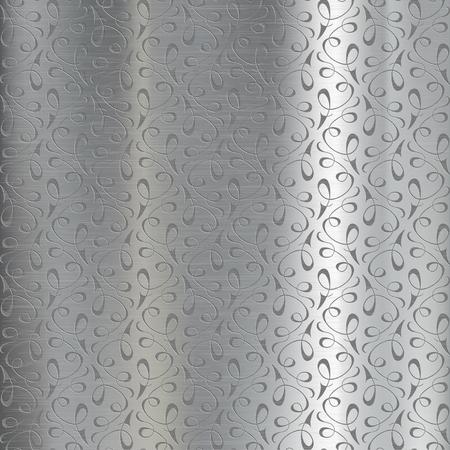 metal pattern: Metal plate engraved. Background pattern of steel.