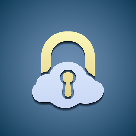 locking: locking in form of a cloud icon