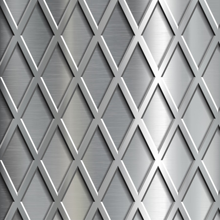 grille: Metallic texture. Steel geometrical background.