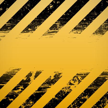hazard stripes: Signal warning stripes. Construction background. Stock vector illustration.