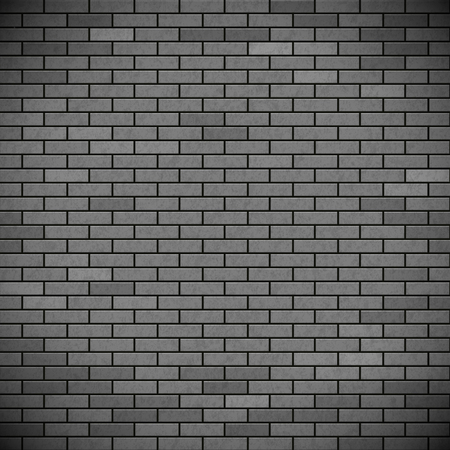 industrial construction: Grey brick wall. Industrial construction background. Stock vector illustration.