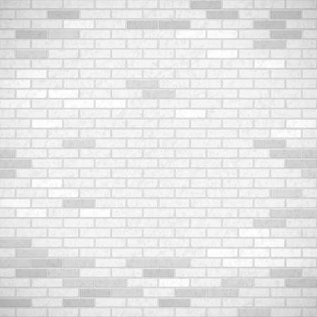 White brick wall. Industrial construction background. Stock vector illustration. Illustration