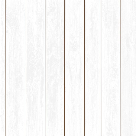 Texture of white wooden panels. Timber background. Stock vector illustration. Çizim