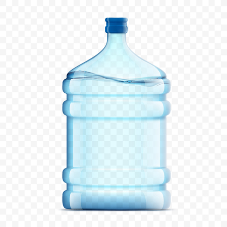 Bottle with clean fresh water icon