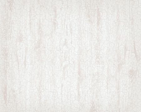 Texture of white wooden background. Craquelure effect with cracks in the paint. Vector illustration.