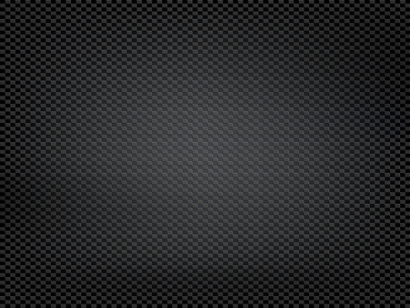 Texture black carbon fiber. Kevlar surface pattern. Vector background. Ilustrace