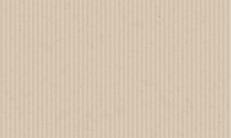 Texture sheet of corrugated cardboard. Blank paper background. Vector illustration. Stock Illustratie