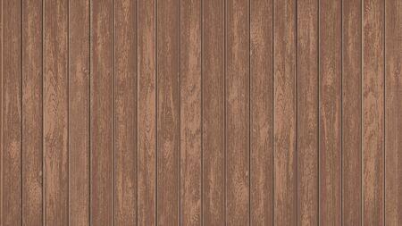 Brown-Textur-leere Mockup-Holzplatten. Holzfahne mit Kopienraumschablone. Vektor-Hintergrund.