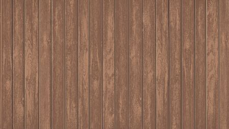 Brown texture blank mockup wooden panels. Timber banner with copy space template. Vector background.