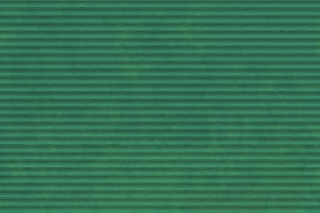 Green metal background with pattern. Gate of storage space. Roller shutter door for garage or warehouse. Vector illustration. Vecteurs