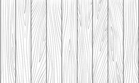 White wooden texture. Vector hand drawn simple pattern