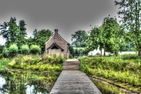 Water Mill Domain Stockfoto - 114669502
