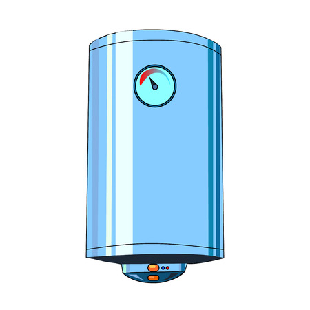 The vector illustration of the boiler to create an internet shop