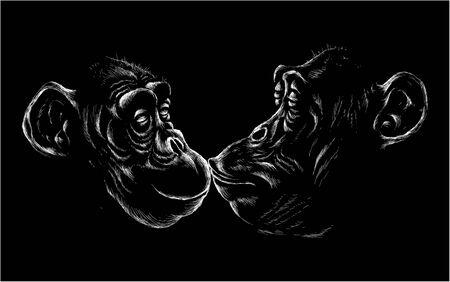 The vector lovers of monkeys.
