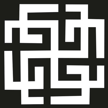 The vector ancient magical Slavic symbol. Celtic magical magic symbol of northern peoples. For t shirt and printing on fabric. Foto de archivo - 151852685
