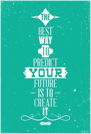 動機付けのポスターに適して任意の形式の良いフレーズ 1 日あたりの印刷  イラスト・ベクター素材