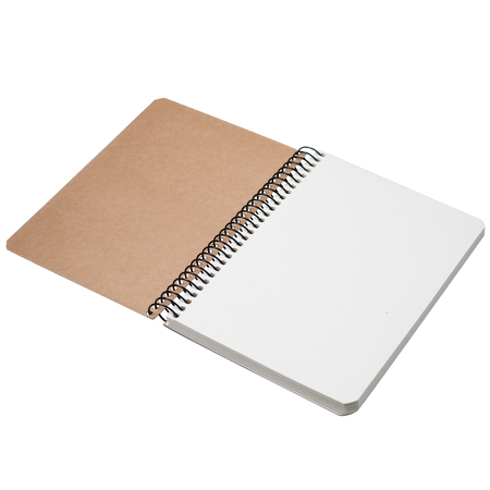 drawing pad: Photo of notebook. Drawing pad Stock Photo