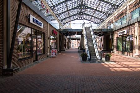 shopfront: Village outlet Manufacture, dutch village with shops