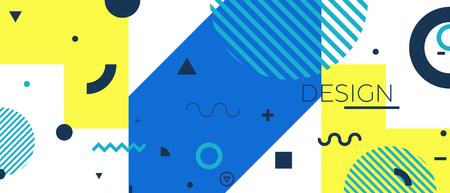 certificate template: Modern colored background Vector illustration. Illustration