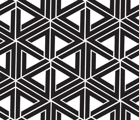 Vector seamless simple background abstract geometric lines pattern. Illustration