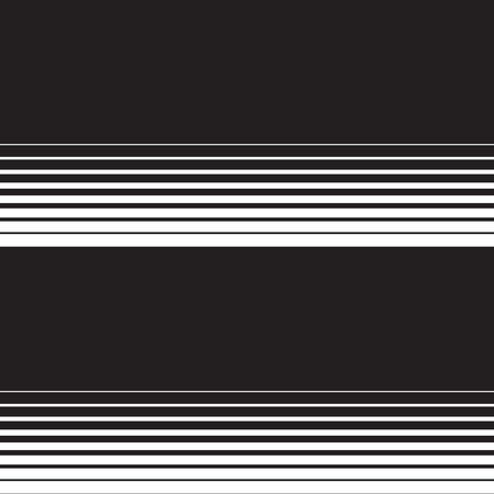 Universal repeating abstract shape in black and white