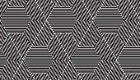 Abstract repeating classical background in black and white