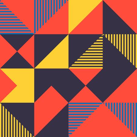 Minimalist background seamless pattern with simple shape