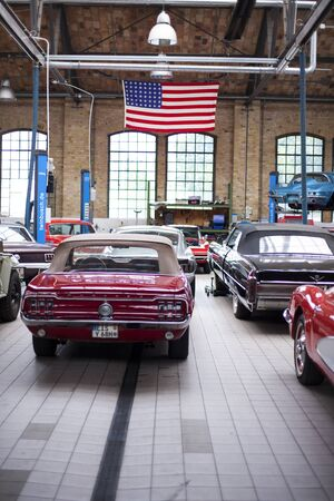 The Classic Remise Berlin, a center for vintage cars