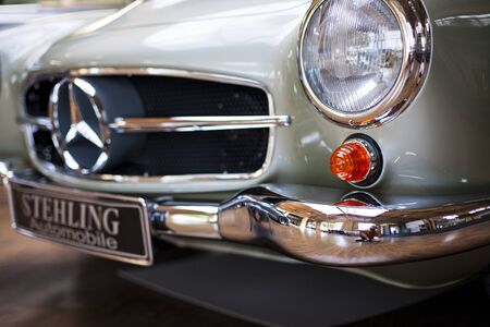 Berlin, Germany - June 28, 2018: Vintage retro car