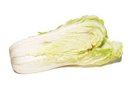 pekingese: Pekingese cabbage isolated on white