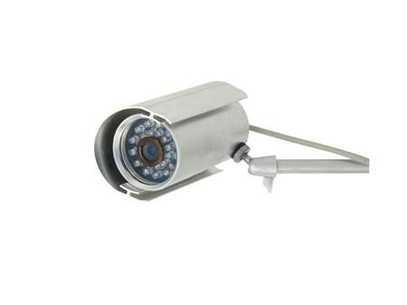 Security camera isolated on white. Stock Photo - 4034326