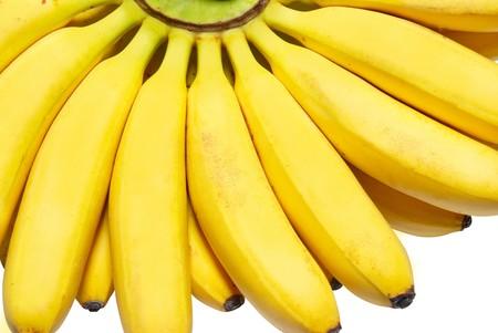 Butch of small bananas. Stock Photo - 4070599