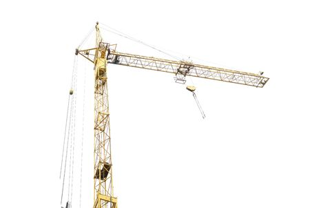 Building crane isolated on the white background Stock Photo - 4601481