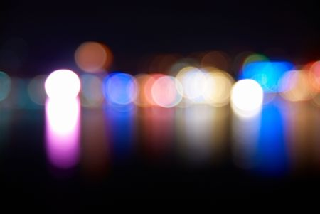 Holiday lights- can be used for background Stock Photo - 6113617
