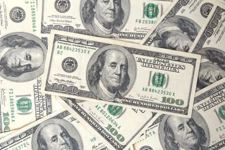 A lot of dollars can be used for background Stock Photo - 8924847