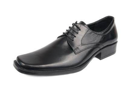 dress shoe: Left man