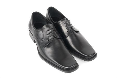 dress shoe: Pair of man Stock Photo