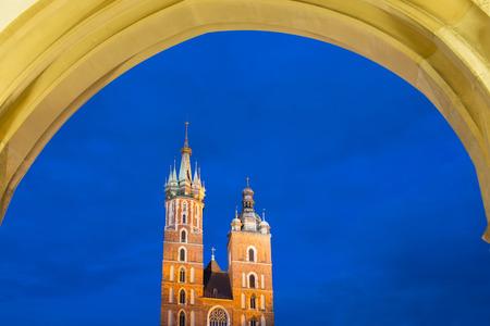 cracovia: Saint Mary Stock Photo
