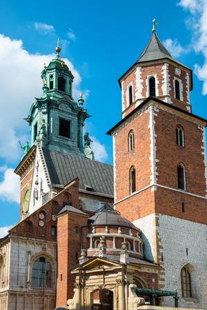 wawel: Wawel Cathedral, part of the Royal Wawel Castle, Krakow, Poland