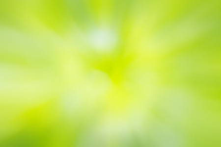 green and white: Green and yellow light spots can be used for background Stock Photo