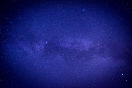 stars  background: Blue dark night sky with many stars. Space milkyway background