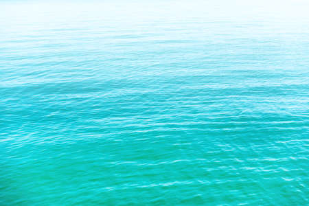 Blue sea water background for nature blue texture