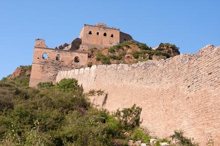simatai: Great Wall of China near JinShanLing, Miyun District, Hebei, China.