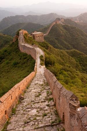 hebei: Great Wall of China near JinShanLing, Miyun District, Hebei, China.