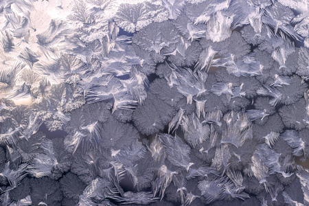 Frost on glass pattern